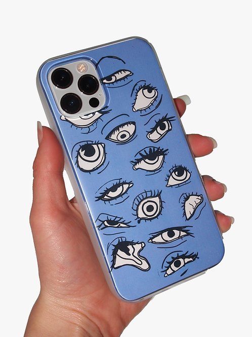 'Eye See You' insert + clear case