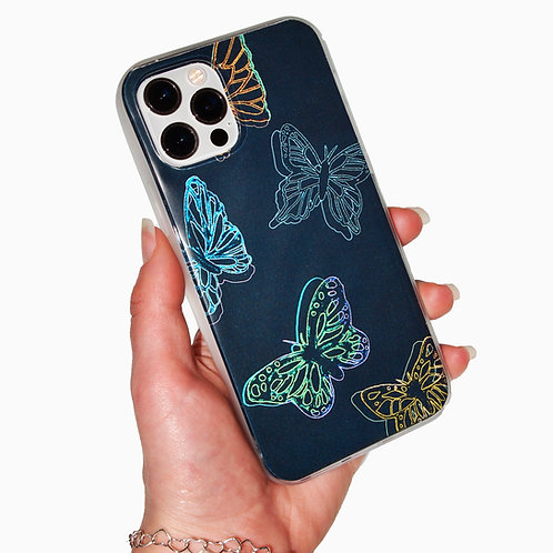 'Inverted Butterfly' insert + clear case
