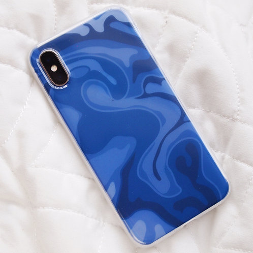 'Blue Marble' insert + clear case