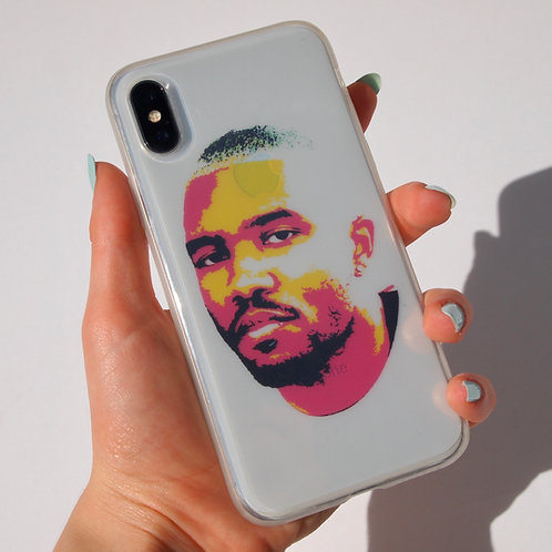 'Graphic Frank' insert + clear case