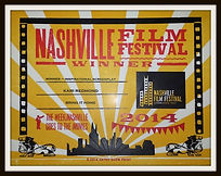 """First Place Awarded to Foster Redmond and Ben Davies for Best Inspirational Feature Film Script for """"Bring It Home"""" at the 2014 Nashville Film Festival"""