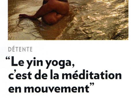 Le Yin Yoga dans Psychologies Magazine