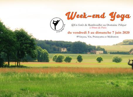 Week end Yoga dans la forêt de Rambouillet du 5 au 7 Juin 2020