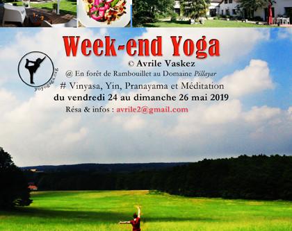 Week end yoga dans la forêt de Rambouillet