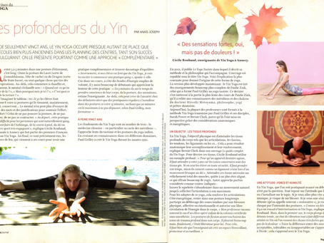 Le Yin Yoga dans le Yoga Journal France