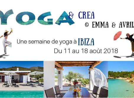 Retraite yoga/créa à Ibiza