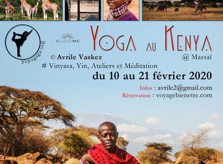 Stage de yoga solidaire au Kenya