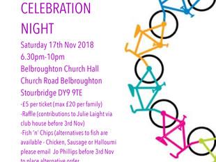 Celebration Night, 17th Nov 2018