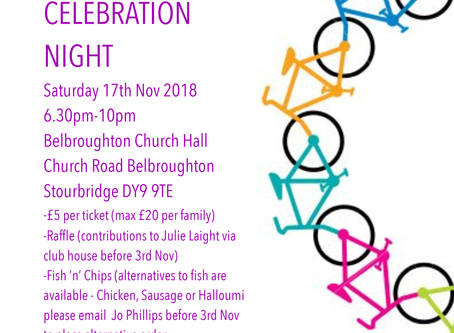 Celebration Night, 17th Nov 2018