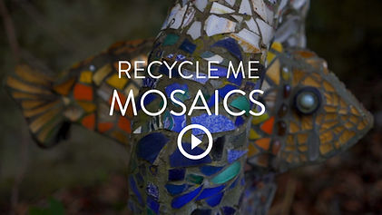 Recycle Me Mosaics _ Comrie, Perthshire.
