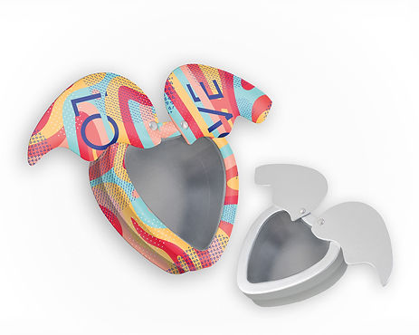 Herzdose Fluegel Blechdosen Metalldosen Hersteller