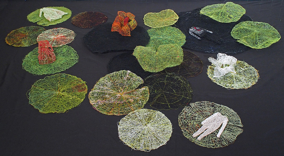 lily pads (detail)