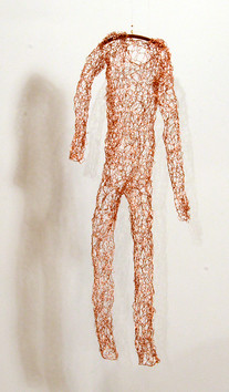 knit copper body suit