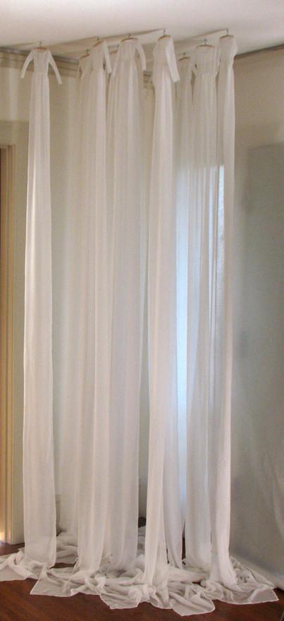 little silk dresses installation