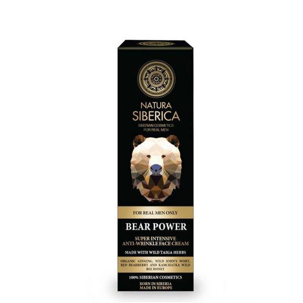 Super intenzivní krém proti vráskám – Medvědí síla