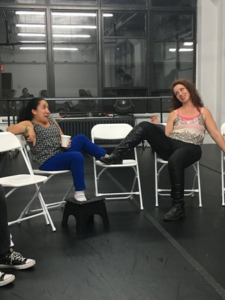 """""""Briefly Dead"""" rehearsals have started!!!"""