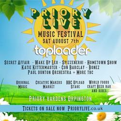 Priory Live Music Festival 2021