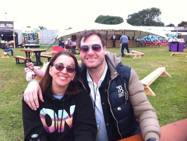 Liz and John OnBlackheath 2017