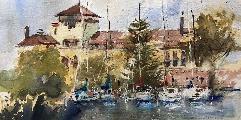 CANCELLED - Watercolor Impressions   Diann Benoit