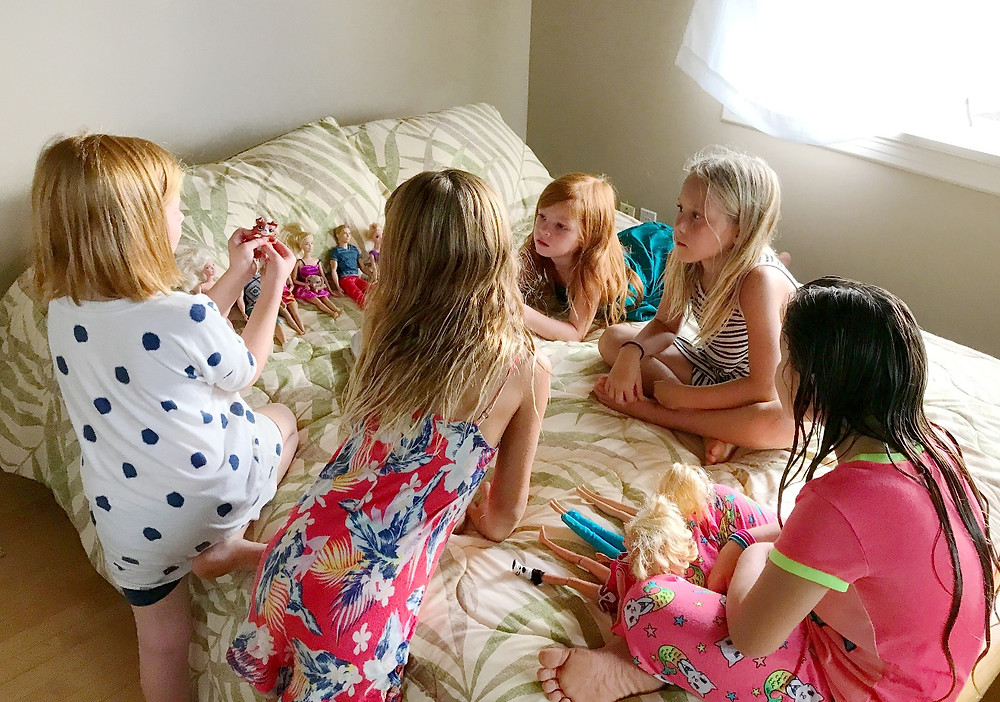 Barbies with Friends