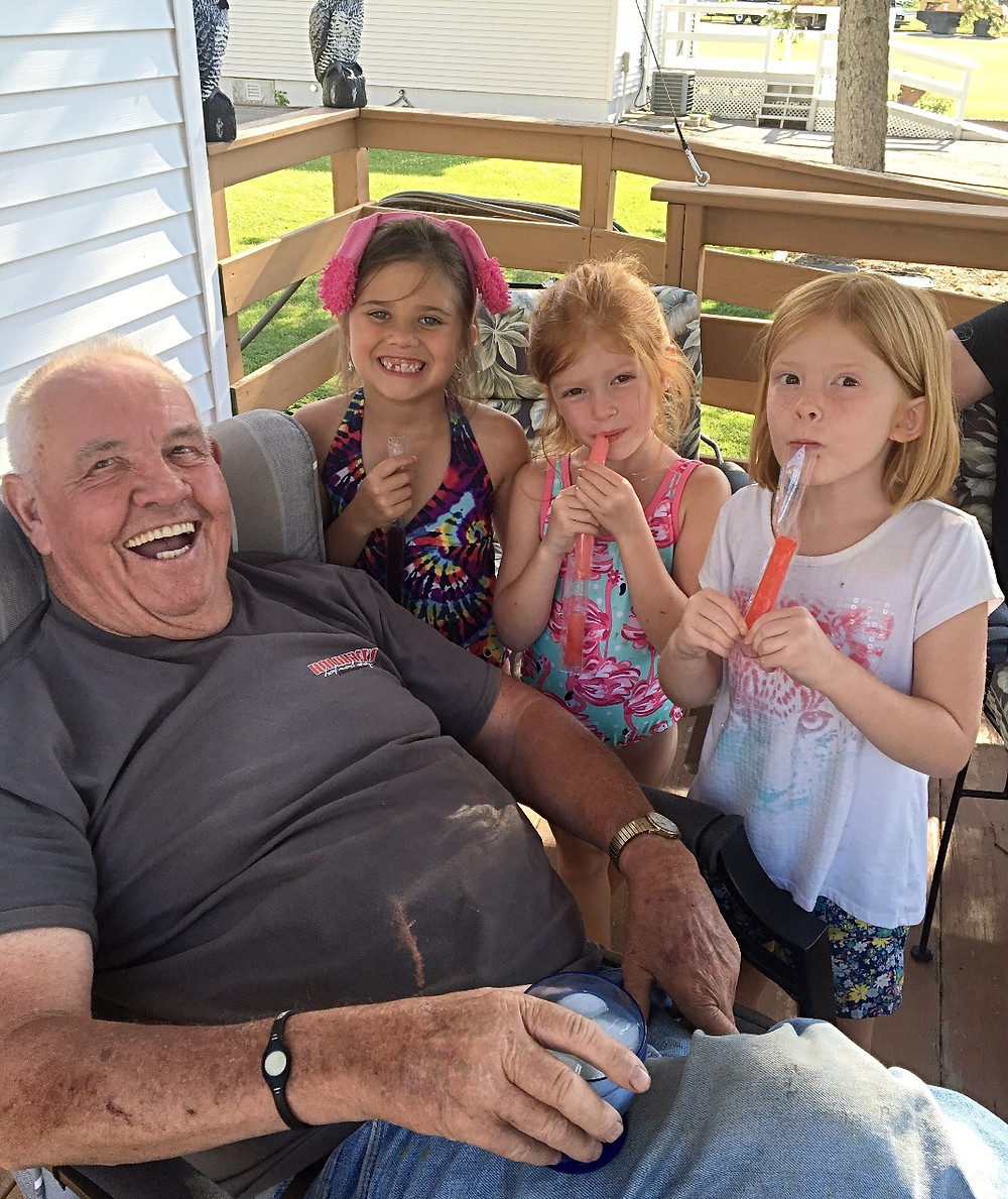 Popsicles w/ Papa Jerry