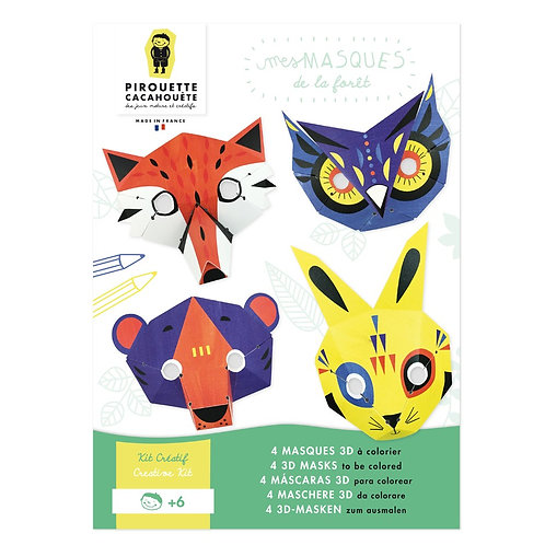 Kit Créatif - Masques Forêt