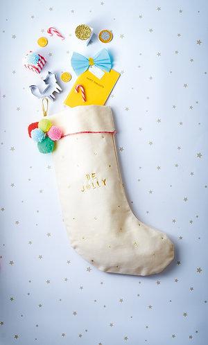 Grande chaussette de Noël