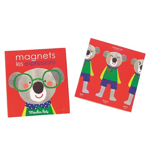 Magnets les expressions - Les Popipop
