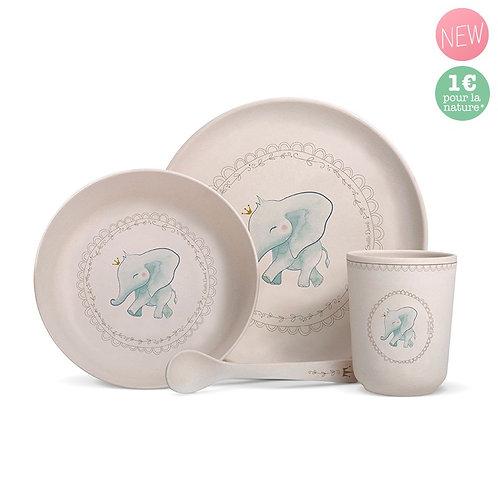 Coffret de vaisselle - Éléphant