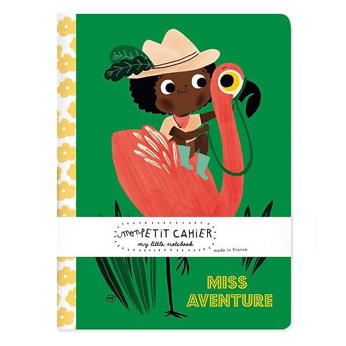 Cahier Miss Aventure