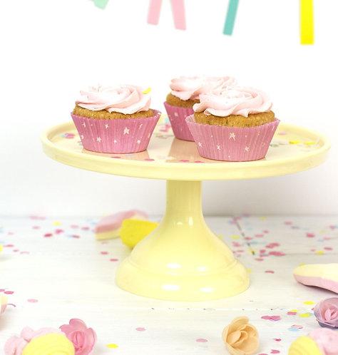 Support à gâteau Jaune