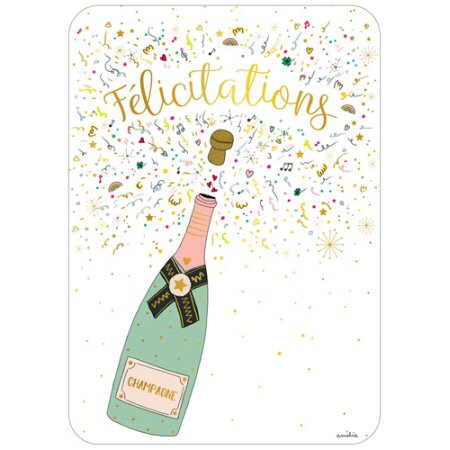 Carte - Félicitations