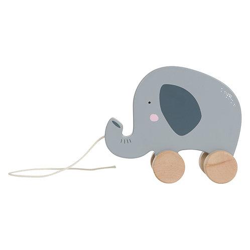 Jouet à tirer - Eléphant