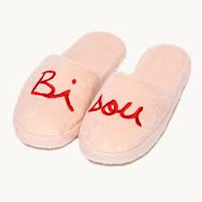 Chaussons Bisou - Rose