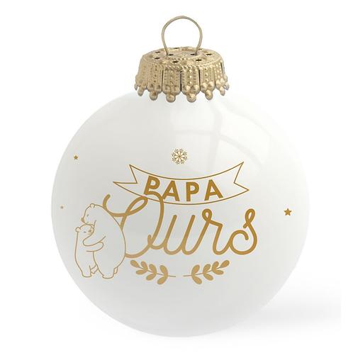 Boule de Noël - Papa Ours