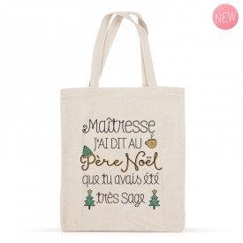 Tote Bag - Maîtresse Noël