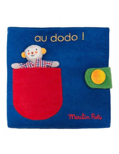 Livre tissu Au dodo ! - Les Popipop
