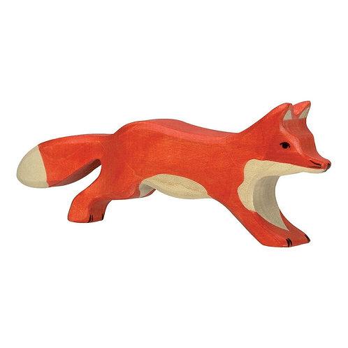 Figurine en bois - Renard