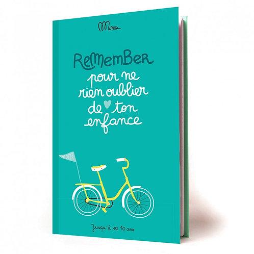Cahier de souvenirs: Ton enfance