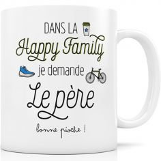 Mug Happy Family - La Père