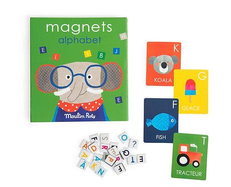 Magnets l'alphabet - Les Popipop