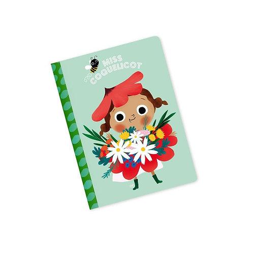 Mini Carnet Miss Coquelicot