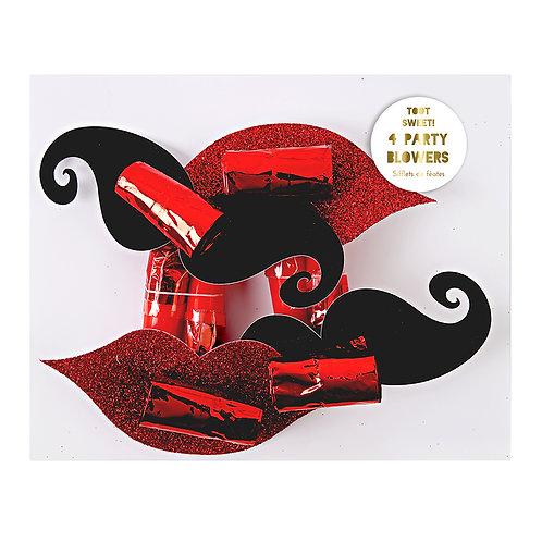 Sifflets Bouche et Moustache