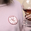 Thumbnail: Patch thermocollant - Amour & Rosé