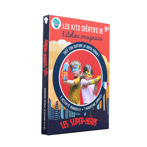 Kit Créatif - Super Héros