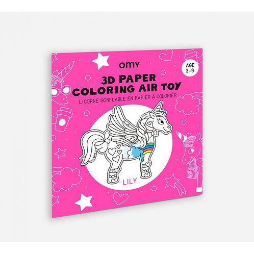 Coloriage 3D Air Toy - Lily