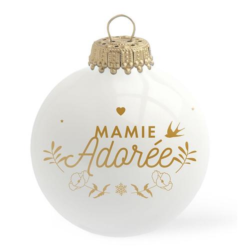 Boule de Noël - Mamie Adorée