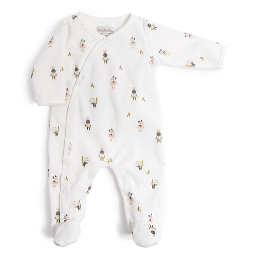 Pyjama velours - Après la pluie