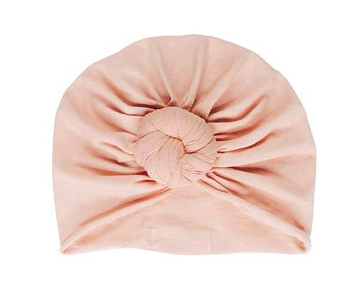 Bonnet Turban - Nude