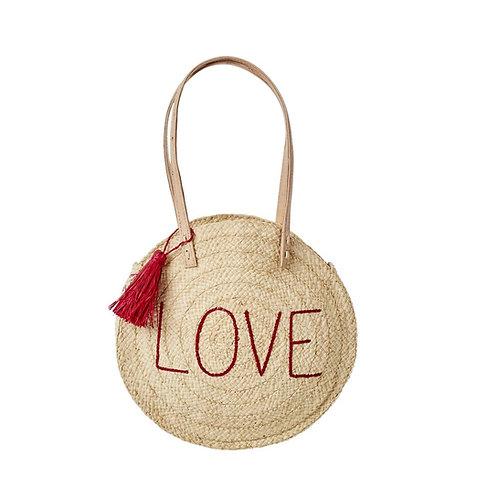 Panier en bandoulière - Love